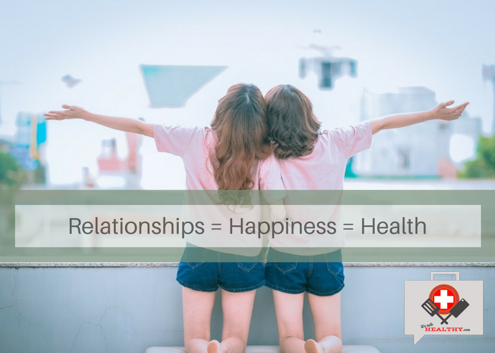 The Road to Health is Paved with Good Relationships; Are You on Track?